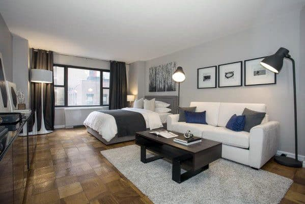 13 Stunning Apartments In New York: Top 60 Best Studio Apartment Ideas