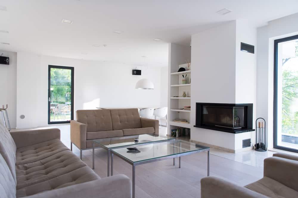 Simple Minimalist Living Room 3