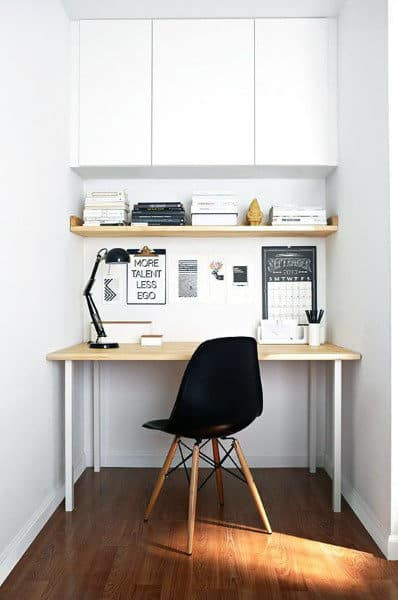Simple Modern Small Home Office Ideas
