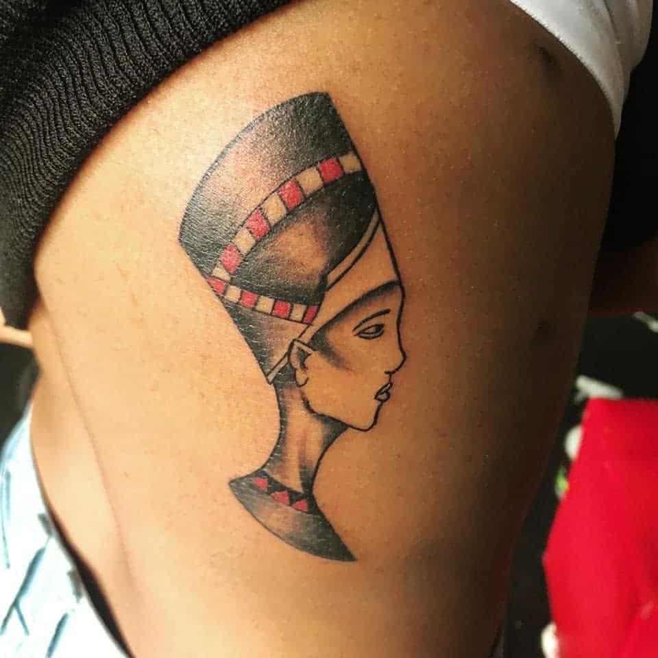 Simple Nefertiti Tattoos Iinkjunkie Sa