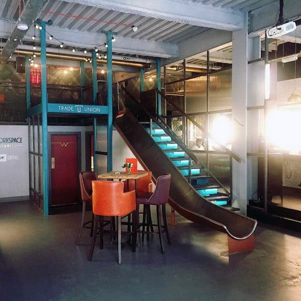 Simple Office Indoor Slide