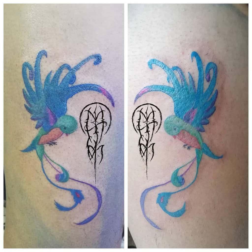 Simple Quetzal Tattoos Mumbo Jumbo Tattoo