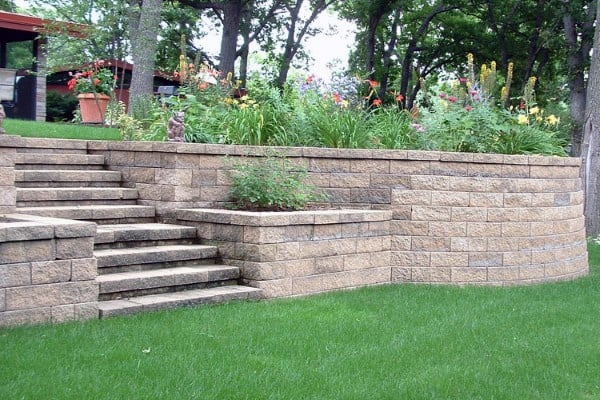 Simple Retaining Wall Ideas
