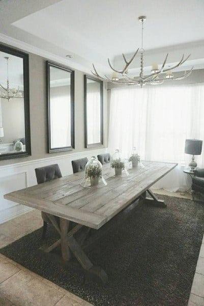 Simple Rustic Dining Room Ideas
