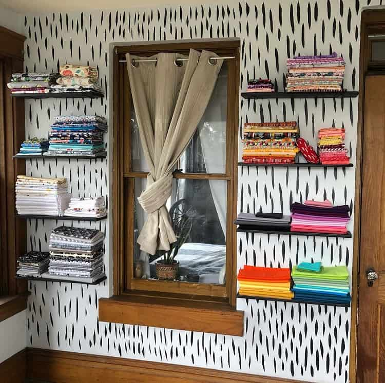 Simple Sewing Room Organization Craft Room
