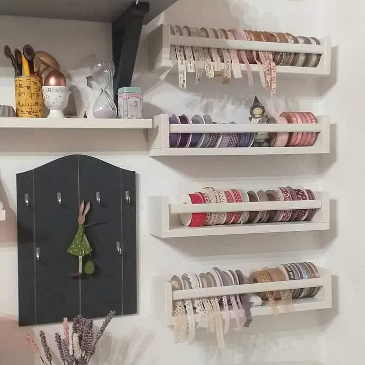 Simple Sewingroom Organizer Craft Room