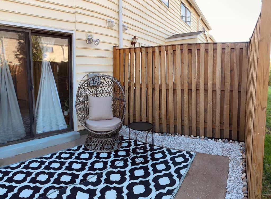 simple small backyard patio ideas teaandtapemeasure
