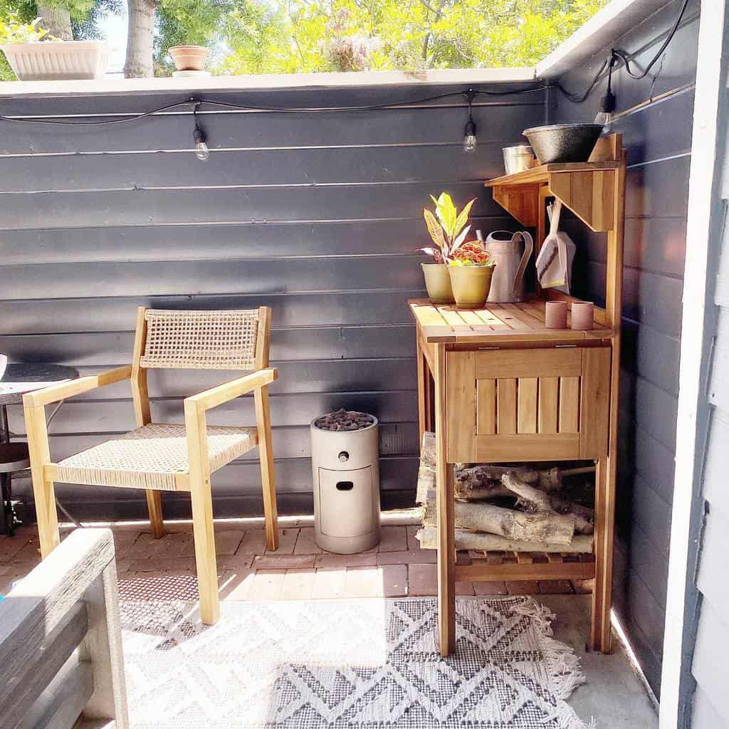 simple small backyard patio ideas thebamhouse