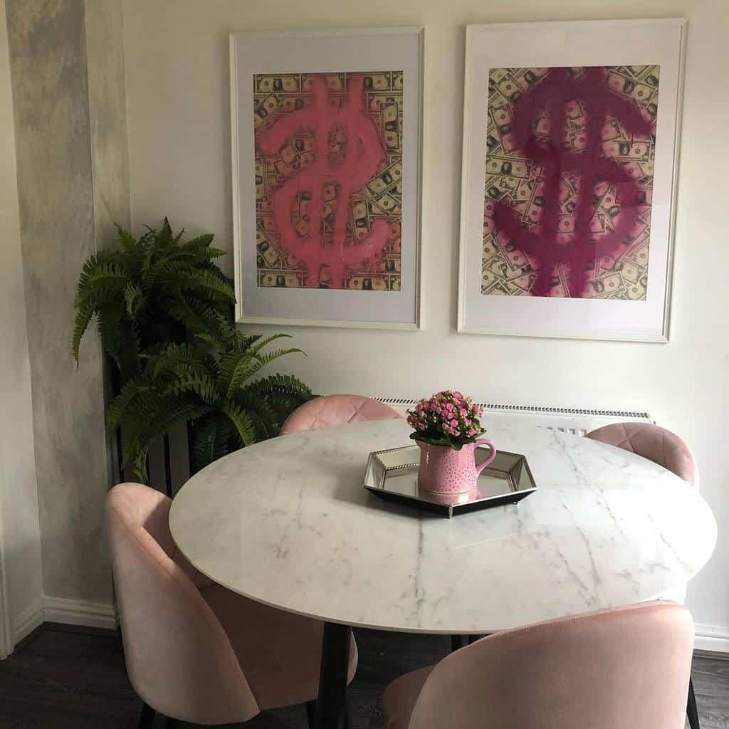 simple small dining room ideas caitlinplusthree