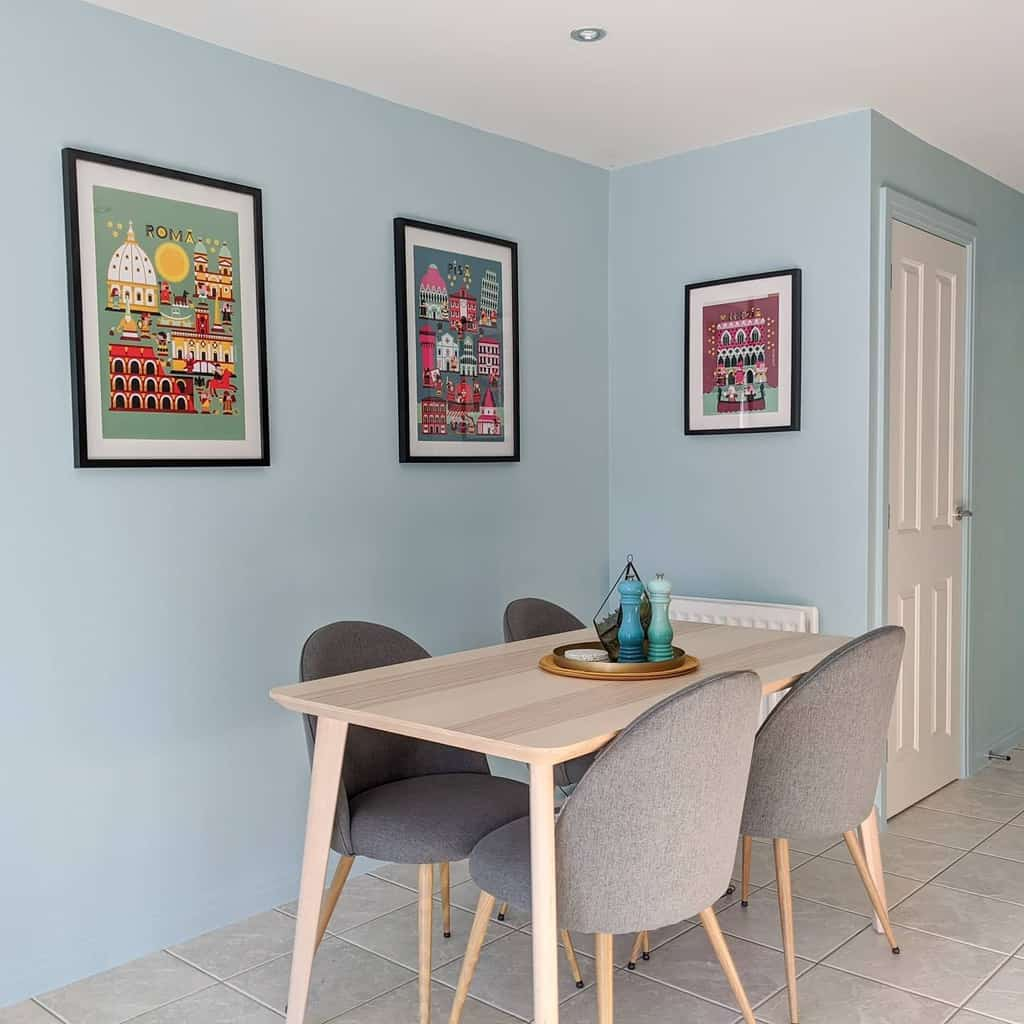 simple small dining room ideas ourblue_townhouse
