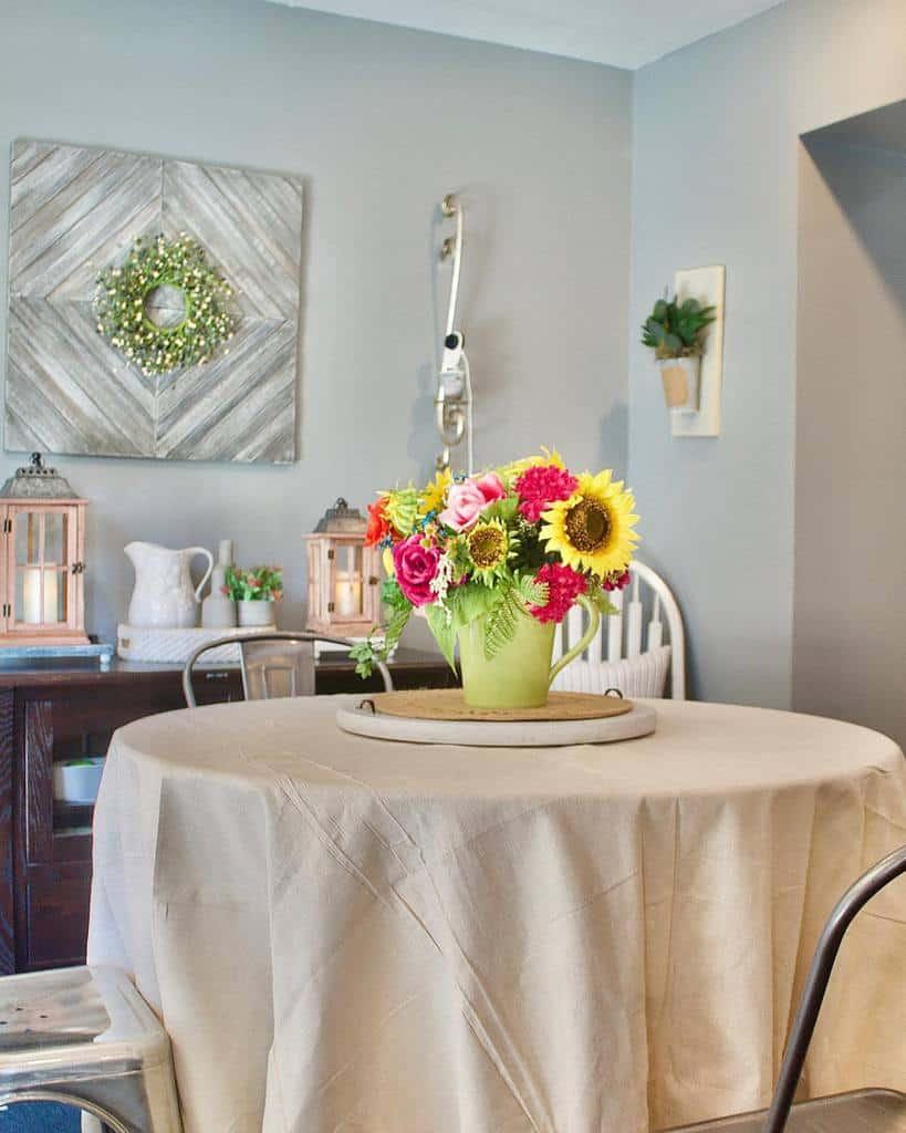 simple small dining room ideas wreathhousedecor