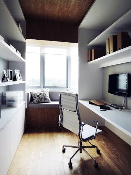 Small Home Office Ideas With Simple Small Home Office Ideas For Men 75 Masculine Interior Designs