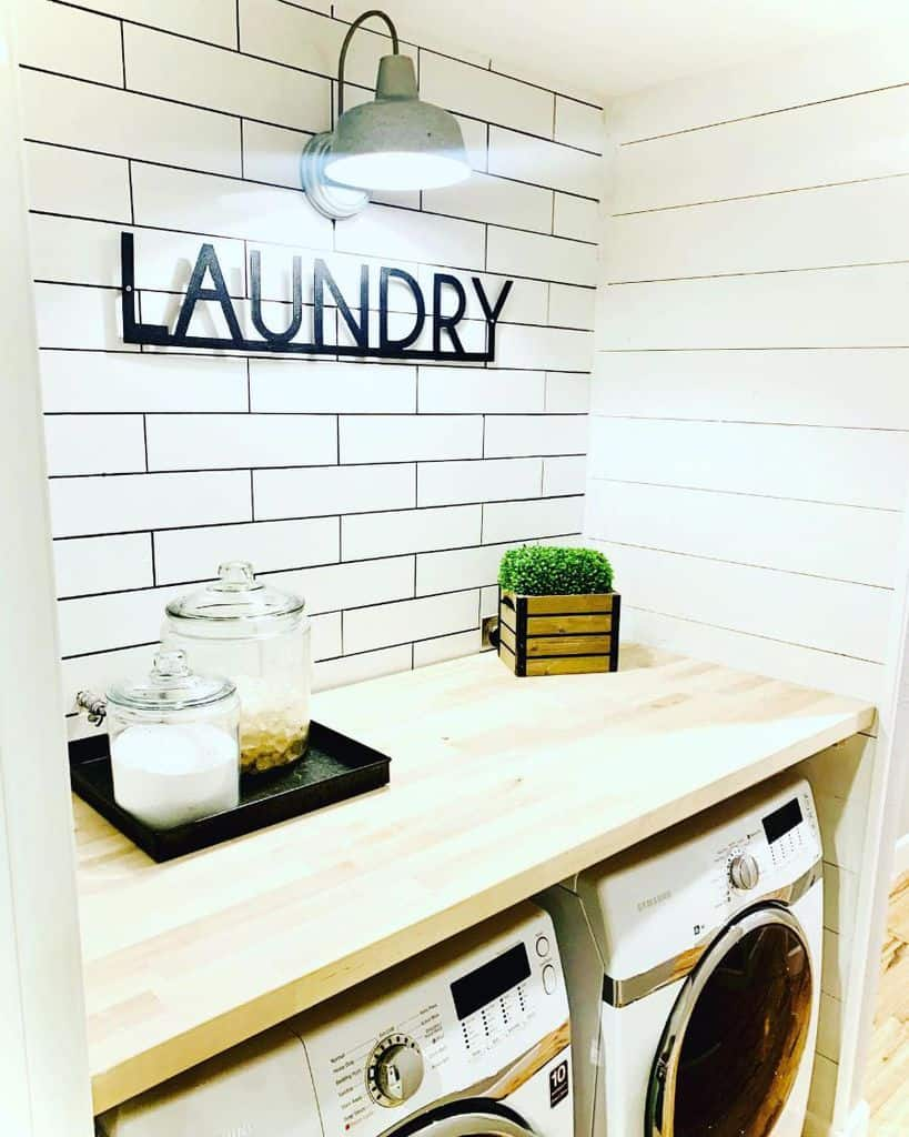 Simple Small Laundry Room Houseofjudd