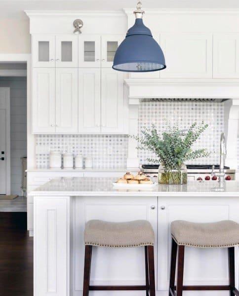 Simple Square Kitchen Backsplash Designs