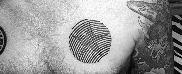 40 Simple Star Tattoos For Men – Luminous Ink Design Ideas