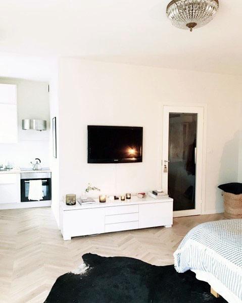 Simple Studio Apartment Ideas