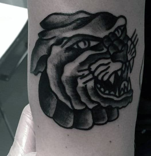 Simple Tattoo Tiger For Men