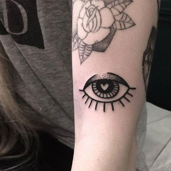 Simple Third Eye Tattoo