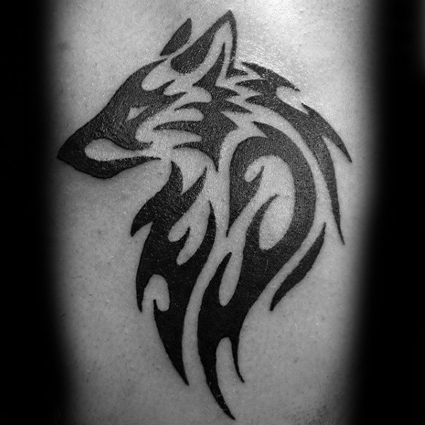 simple-tribal-wolf-male-tattoo-ideas-on-arm