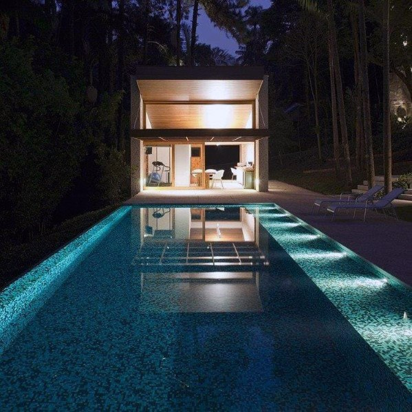 Simple Underwater Pool Lighting