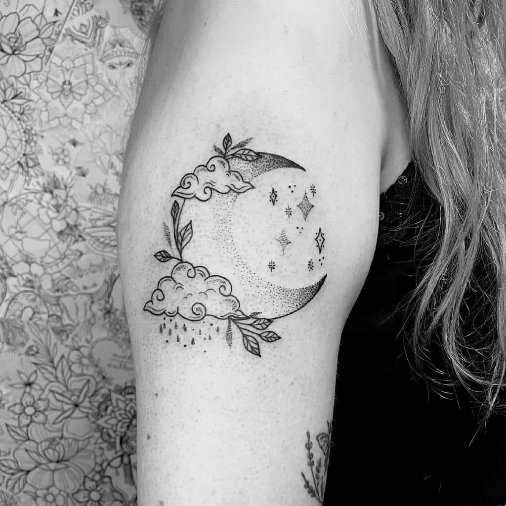 20+ Simple Small Upper Arm Tattoos For Females Pics
