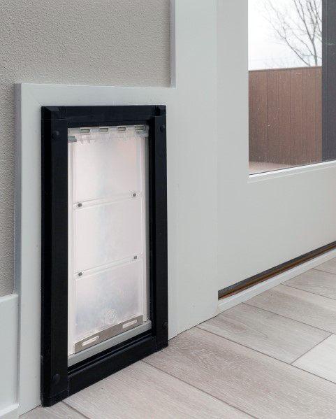 Simple Wall Home Design Ideas Doggy Door