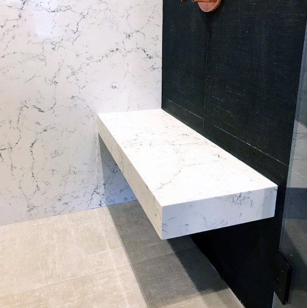 Top 50 Best Shower Bench Ideas Relaxing Bathroom Seat