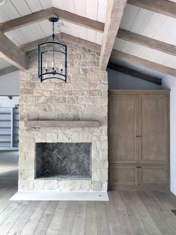 Top 70 best stone fireplace design ideas rustic rock interiors - Images of stone fireplaces ...
