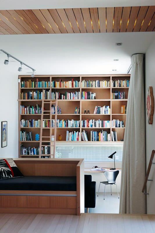 Simplistic Home Library Room
