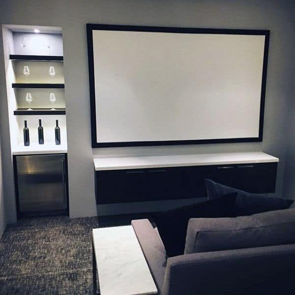 Home Entertainment Spaces: 80 Home Theater Design Ideas For Men