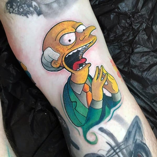 Simpsons Themed Tattoo Ideas