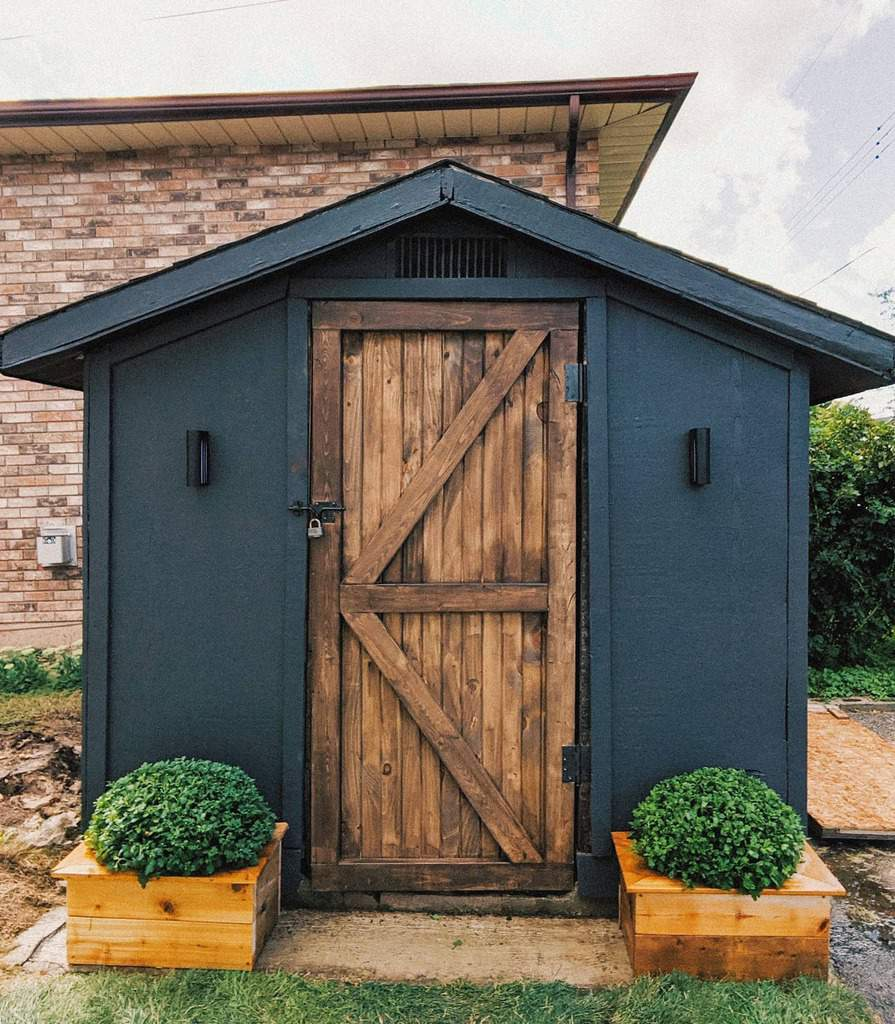 single shed door ideas caileighlangford