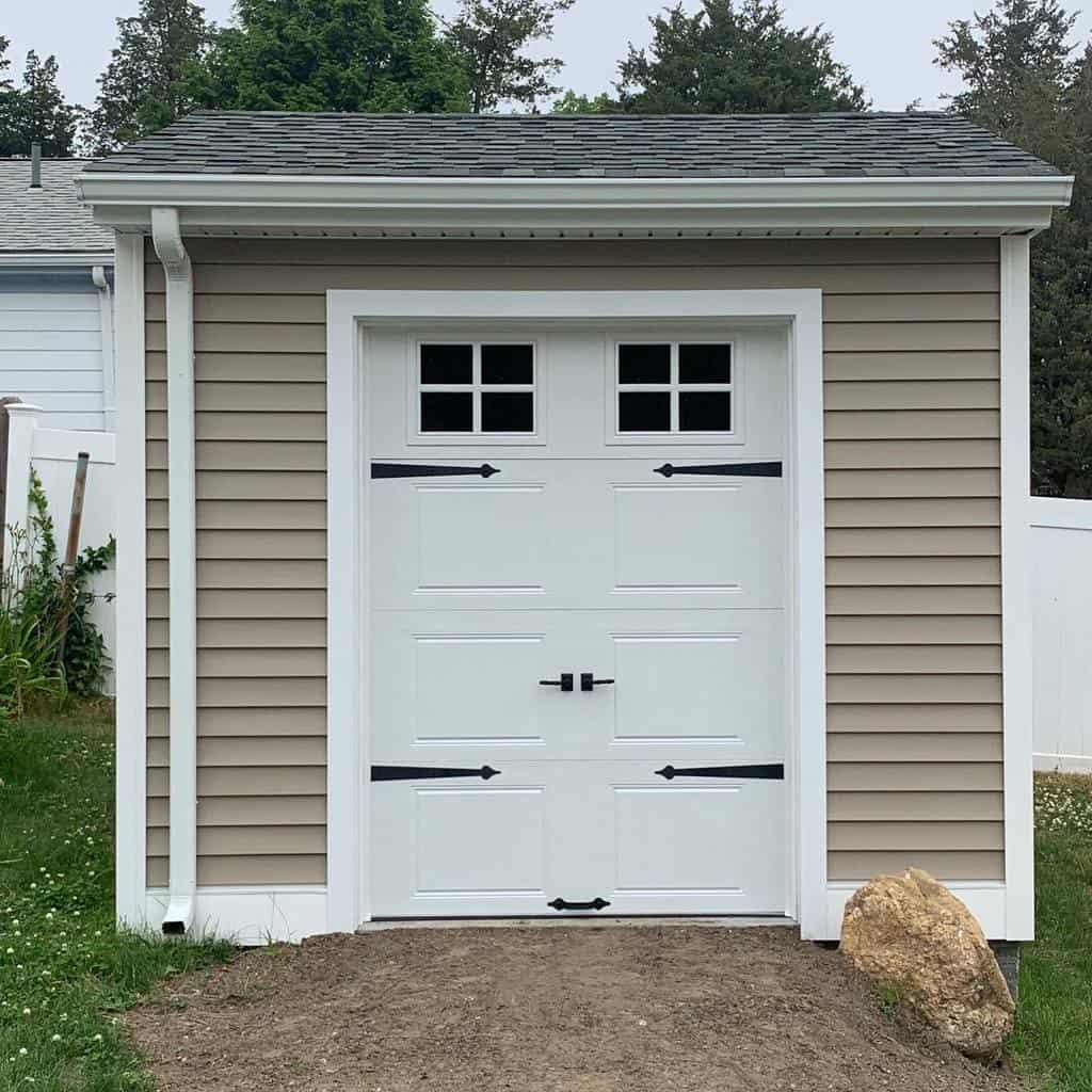 single shed door ideas dimond_ohdoor