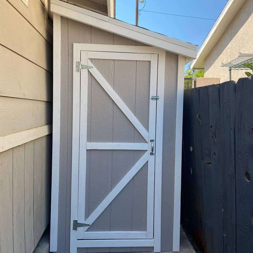 single shed door ideas dog_house_depot