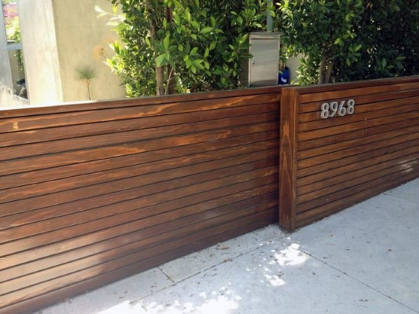 Single Wood Driveway Gate Ideas With Modern Design
