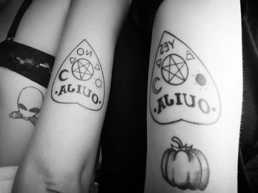Sisterhood Ouija Friendship Tattoo