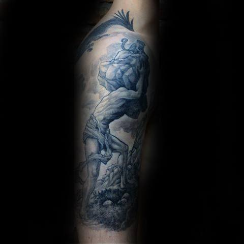 Sisyphus Guys Tattoo Ideas On Forearms