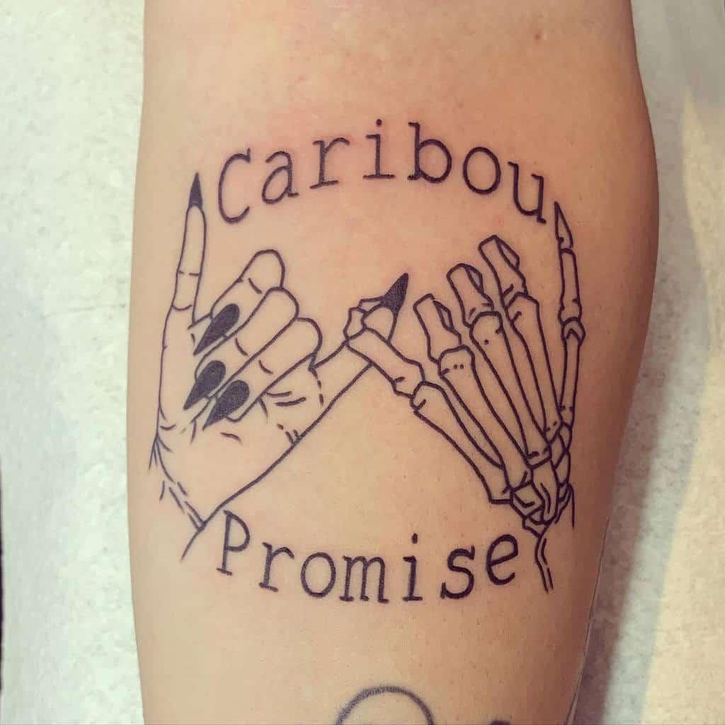 Skeleton Pinky Promise Tattoos Hooliganz Art