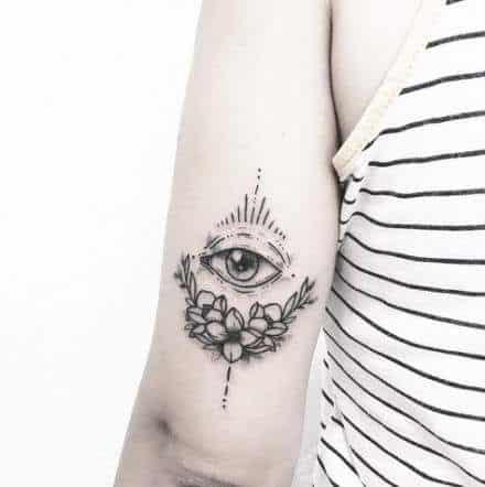 Sketch Eye Tattoo