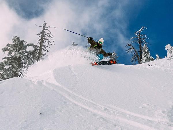 Skiing Snowboarding Instructor Patroller