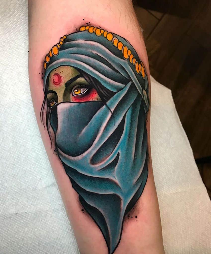 Art de la peau Gypsy Tattoo