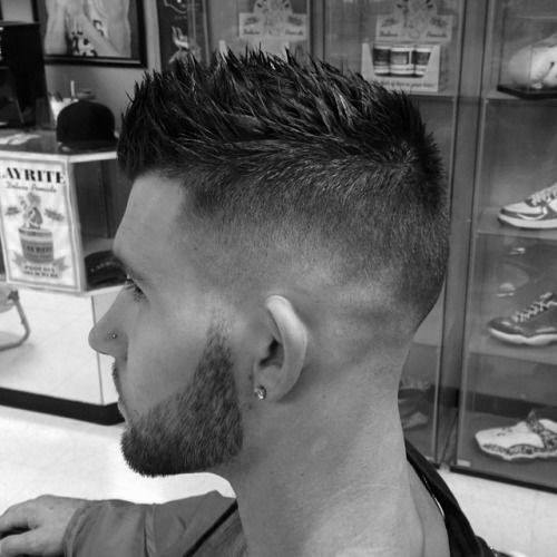 Skin Fade Fauk Hawk Hairstyle For Guys