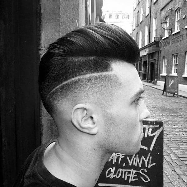 Skin Fade Hairstyle For Males