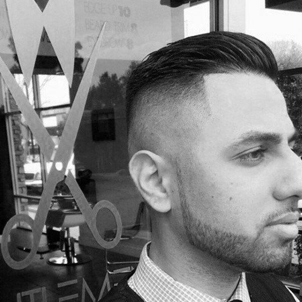Enjoyable Skin Fade Haircut For Men 75 Sharp Masculine Styles Short Hairstyles Gunalazisus