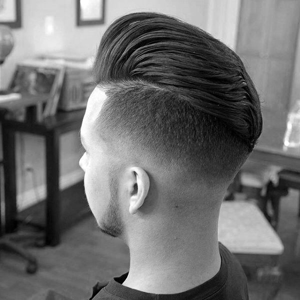 Skin Tight Fade Haircut For Men