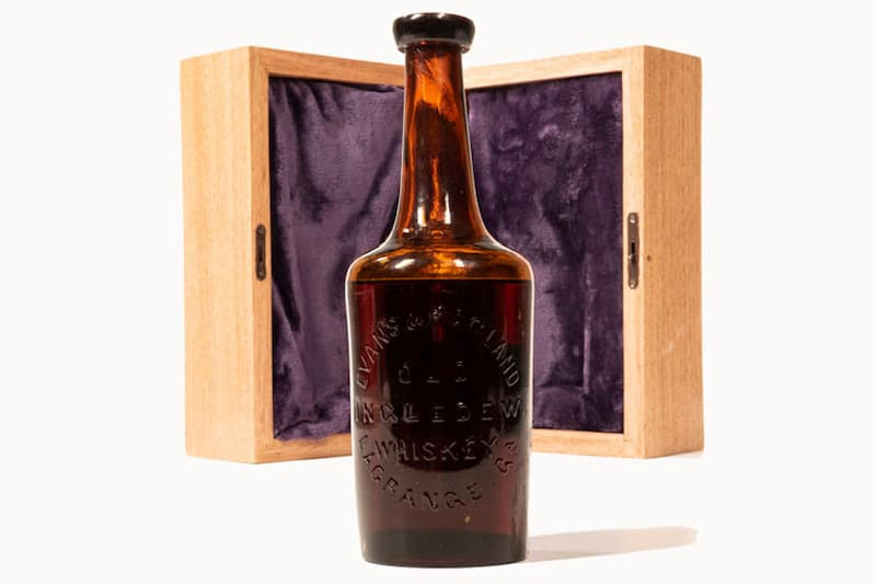 World's Oldest Known Whiskey Bottle Up for Auction