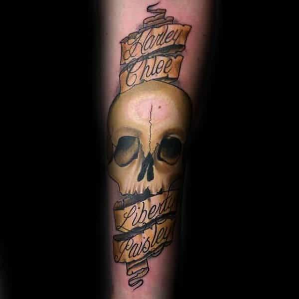 60 banner tattoos for men