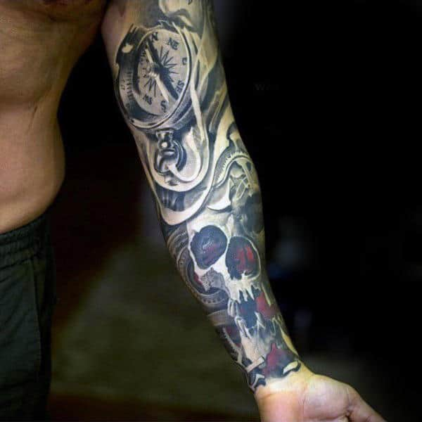 Tattoos For Men Forearm: 75 Inner Forearm Tattoos For Men