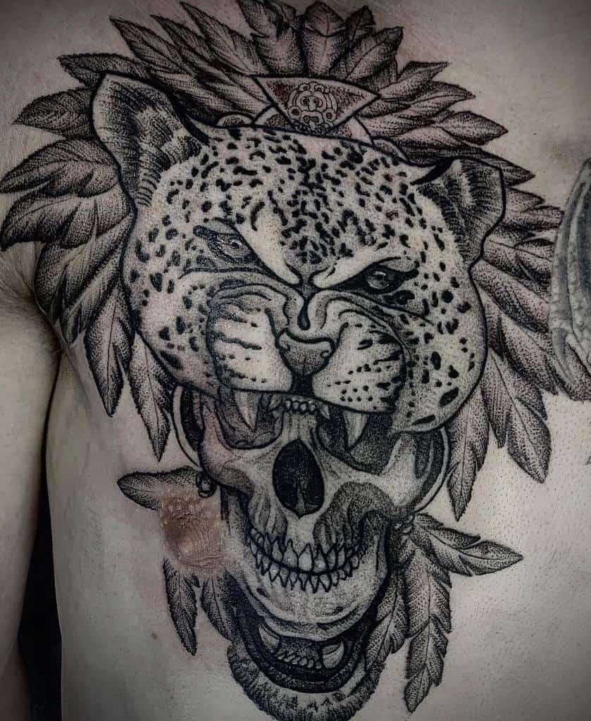 skull-dot-work-jaguar-tattoo-adam.tattoos