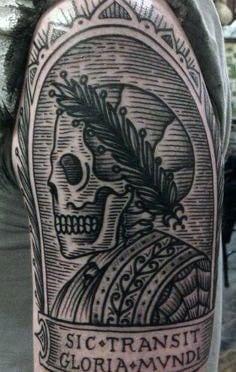 Skull Half Sleeve Tattoos